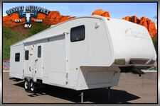 2009 Keystone Cougar 318SAB Triple Slide Fifth Wheel RV