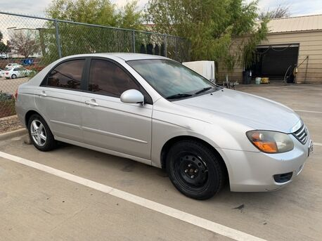 2009_Kia_Spectra_LX BUCKET SEATS,POWER STEERING,CARPETED FLOOR MATS,SP_ Euless TX