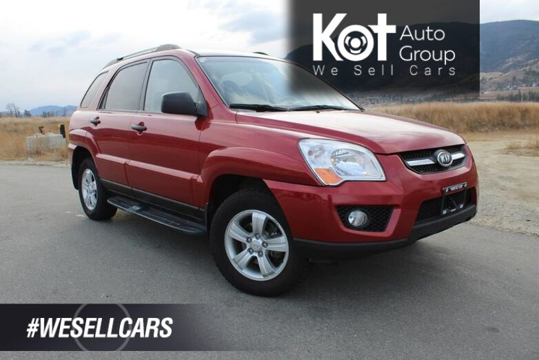 2009 Kia Sportage LX-Luxury Pkg, One Owner, No Accidents, Sunroof Kelowna BC