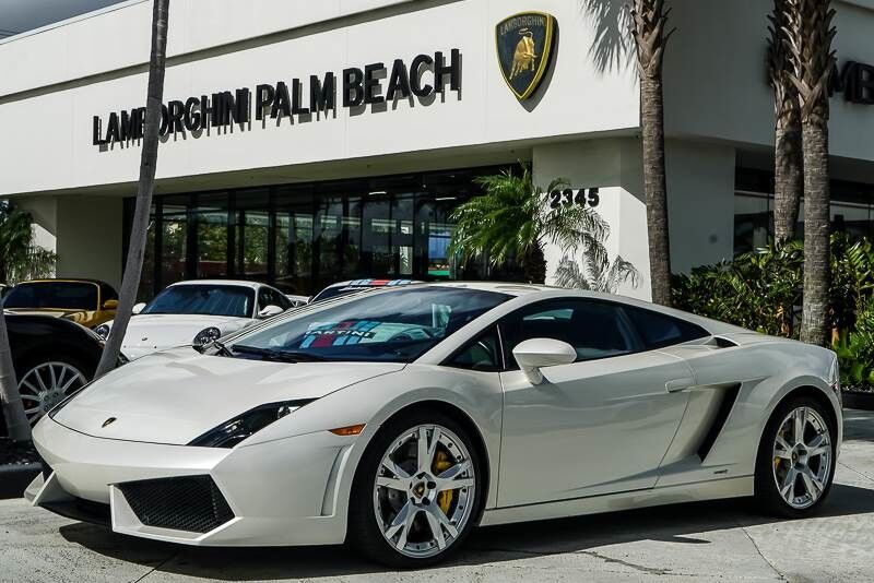 2009_Lamborghini_Gallardo_LP560-4_ Palm Beach FL