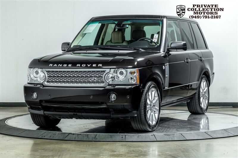 2009_Land Rover_Range Rover_HSE Clean Carfax Only 50k Miles_ Costa Mesa CA
