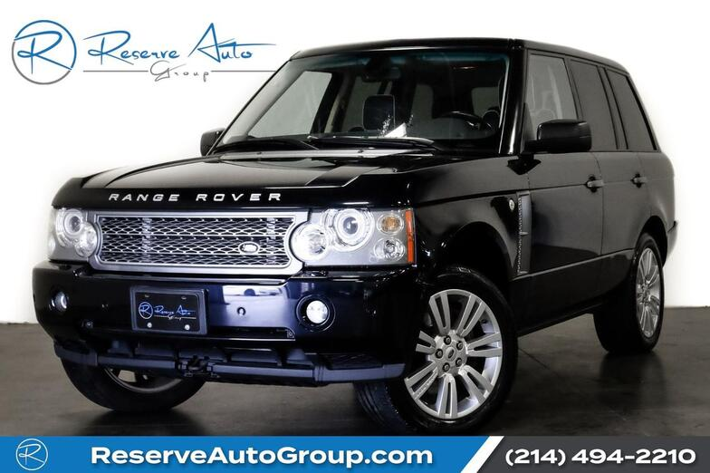 2009 Land Rover Range Rover Supercharged The Colony TX