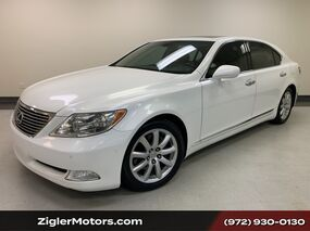 Lexus LS 460 LWB Luxury Package Pearl White Prior Lexus Certified Clean Carfax Mark Levinson Backup Camera 2009