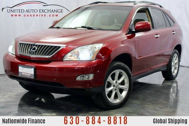 2009 Lexus RX 350 3.5L V6 Engine AWD w/ Navigation, Sunroof, Bluetooth Connectivity, Rear View Camera, Leather Heated Seats Addison IL