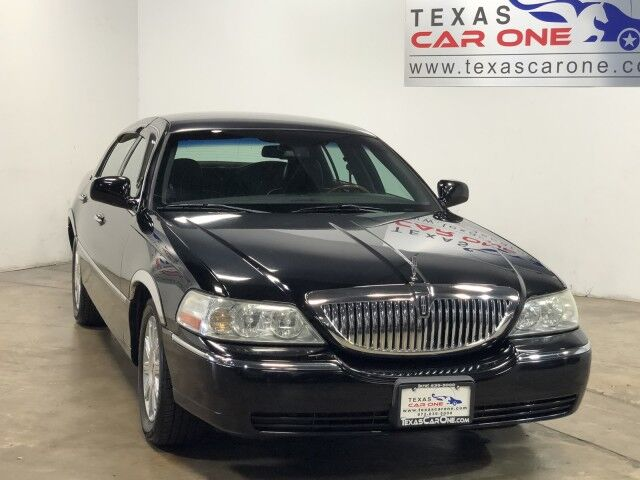 2009 Lincoln Town Car SIGNATURE LIMITED AUTOMATIC LEATHER HEATED SEATS CRUISE CONTROL ALLOY WHEELS Carrollton TX
