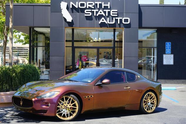 2009_Maserati_GranTurismo__ Walnut Creek CA