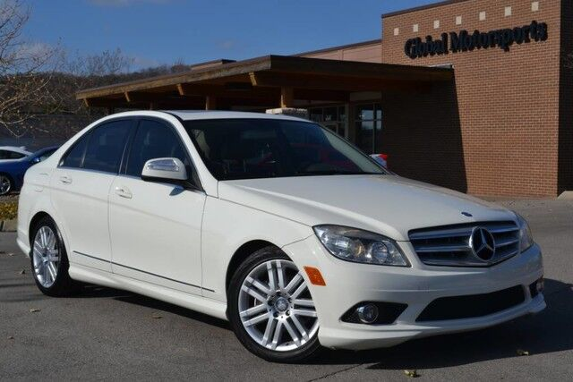 2009 Mercedes-Benz C-Class 3.0L Sport/Local Trade/Very Clean/Sport Pkg/Heated Power Seats/Sunroof/Bluetooth/Satellite Radio/Automatic/Only 2 Owners! Nashville TN