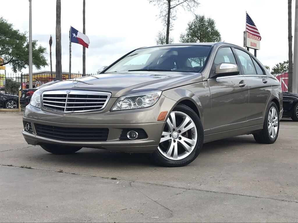 2009_Mercedes-Benz_C-Class_C 300_ Houston TX