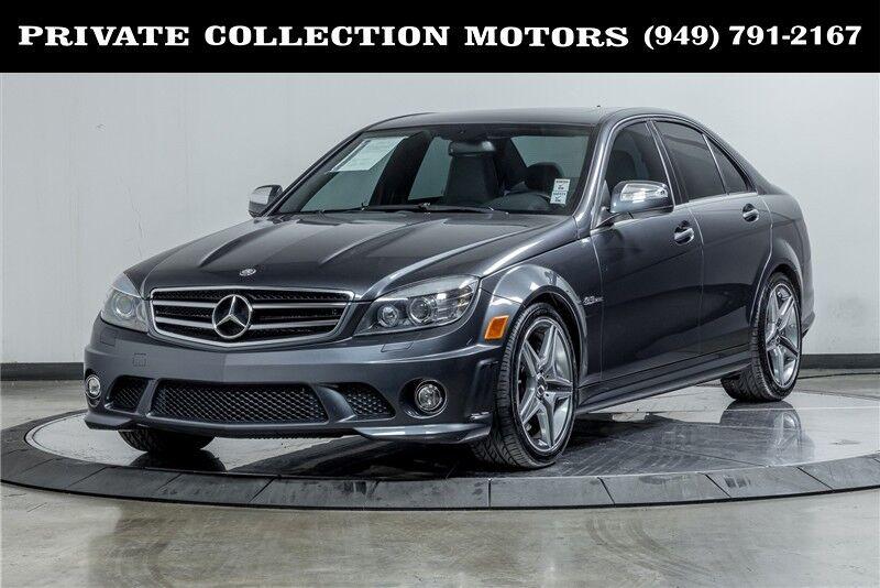 2009_Mercedes-Benz_C-Class_C63 AMG 6.3L AMG Carbon Fiber Performance Package_ Costa Mesa CA