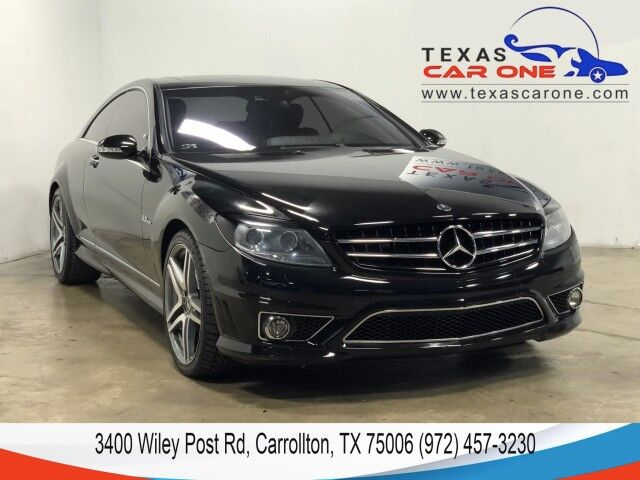 2009 Mercedes-Benz CL63 AMG 6.3L NAVIGATION NIGHT VISION SUNROOF LEATHER HEATED AND COOLED SEATS KEYLESS GO BLUETOOTH Carrollton TX