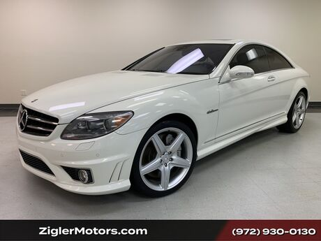 2009 Mercedes-Benz CL63 AMG Coupe 17200 miles Night Vision P2 Pkg Addison TX