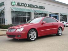 2009_Mercedes-Benz_CLK-Class_CLK350 Coupe, LEATHER,HEATED FRONT SEATS,SUNROOF,CRUISE CONTROL_ Plano TX