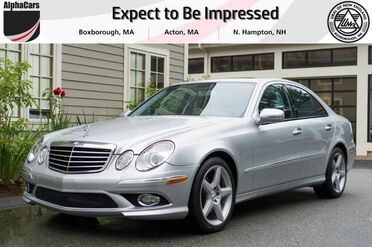 2009_Mercedes-Benz_E350_4Matic AMG Sport_ Boxborough MA