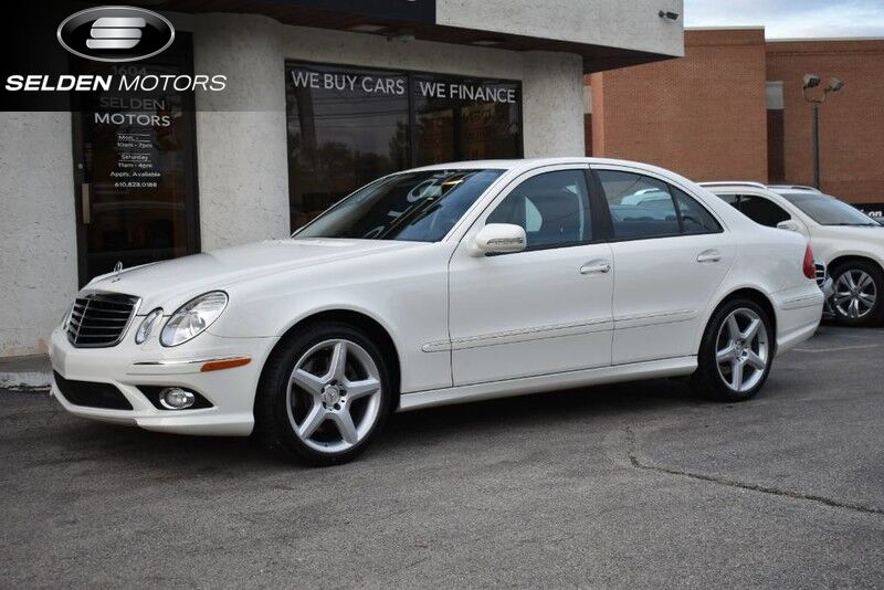 2009 Mercedes-Benz E350 Sport 4Matic Conshohocken PA