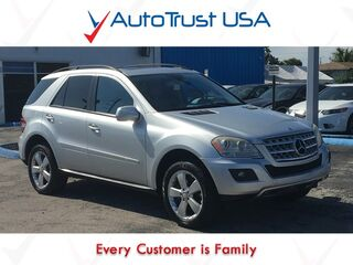 Mercedes-Benz M-Class 3.5L CLEAN CARFAX LEATHER NAV SUNROOF BACKUP CAM FULLY LOADED 2009