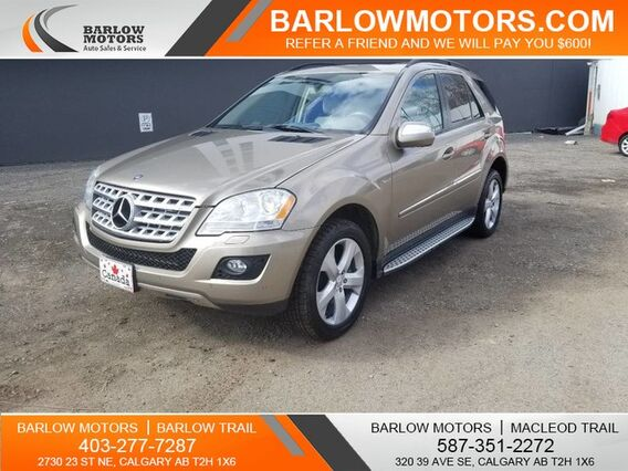 2009_Mercedes-Benz_M-Class_BLUE TEC LOW MILEAGE!_ Calgary AB