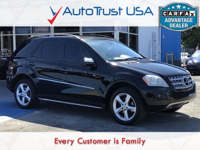 2009 Mercedes-Benz M-Class ML 350 4MATIC Miami FL