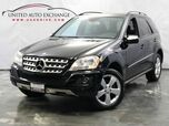 2009 Mercedes-Benz M-Class ML350 / 3.5L V6 Engine / AWD 4Matic / Sunroof / Navigation / Bluetooth / Rear View Camera