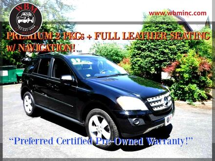 2009_Mercedes-Benz_ML350_4MATIC w/ Premium Package_ Arlington VA