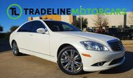 2009 Mercedes-Benz S-Class 5.5L V8 REAR VIEW CAMERA, SUNROOF, NAIVGATION, AND MUCH MORE!!!