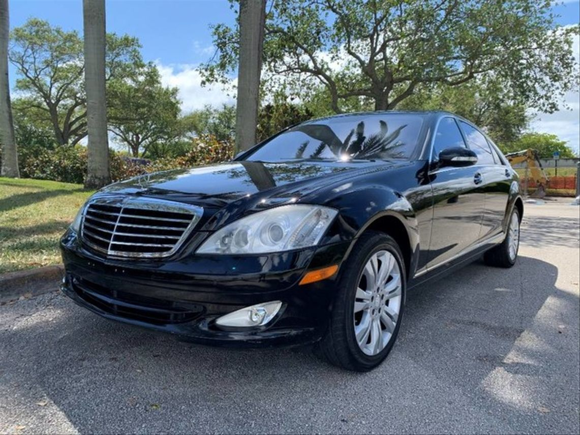 2009 Mercedes-Benz S-Class S 550 4MATIC Sedan 4D