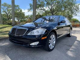 2009_Mercedes-Benz_S-Class_S 550_ Hollywood FL