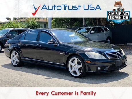 2009 Mercedes-Benz S-Class S 63 AMG Base Miami FL