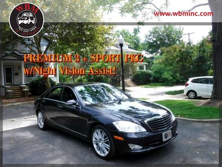 2009_Mercedes-Benz_S550_4MATIC w/ Premium Package_ Arlington VA