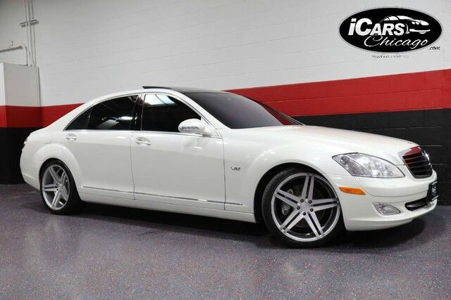 2009 Mercedes-Benz S600 V12 Designo Mystic White Edition 4dr Sedan Chicago IL