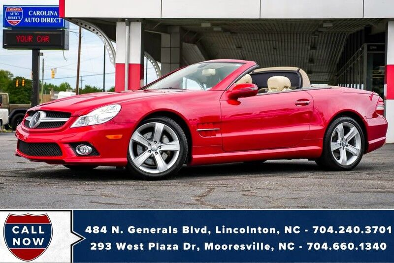 2009 Mercedes-Benz SL-550 V8 w/ Massaging Heated & Vented Seats Mooresville NC