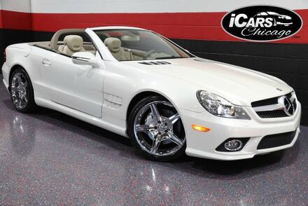 2009_Mercedes-Benz_SL550 AMG Sport_2dr Convertible_ Chicago IL