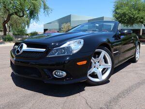 2009_Mercedes-Benz_SL550_Convertible_ Scottsdale AZ