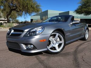2009_Mercedes-Benz_SL550_Convertible_ Scottsdale AZ