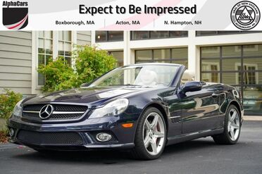 2009_Mercedes-Benz_SL550_Roadster_ Boxborough MA