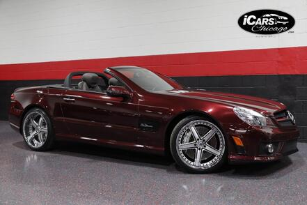 2009_Mercedes-Benz_SL63 AMG_Designo Performance Package 2dr Convertible_ Chicago IL