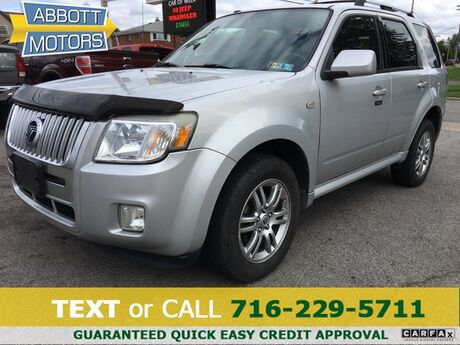 2009 Mercury Mariner Premier 4WD w/Leather & Moonroof Buffalo NY
