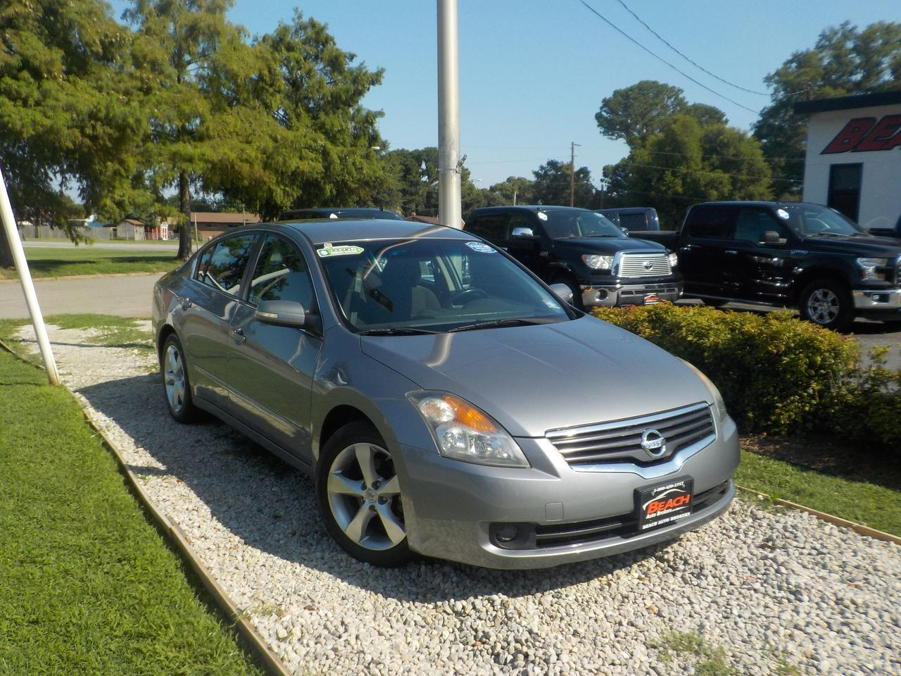 2009 NISSAN ALTIMA SE, WARRANTY, SINGLE CD PLAYER, KEYLESS ENTRY, KEYLESS START, AUX PORT!