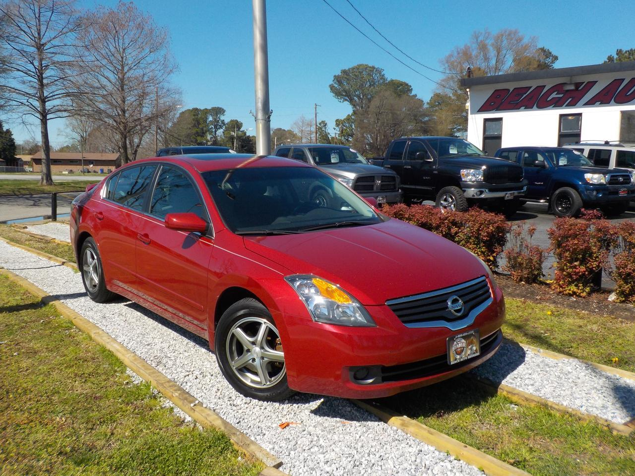 2009 NISSAN ALTIMA S,WARRANTY, SUNROOF, POWER DRIVERS SEAT, CRUISE CONTROL, KEYLESS START, CRUISE CONTROL, THEFT RECOV!
