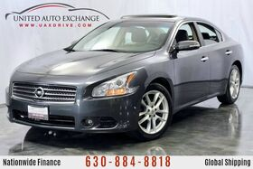 2009_Nissan_Maxima_3.5L V6 Engine FWD S w/ Sunroof, Bluetooth Connectivity, Bose Premium Sound System, AUX Input, Leather Heated Seats_ Addison IL