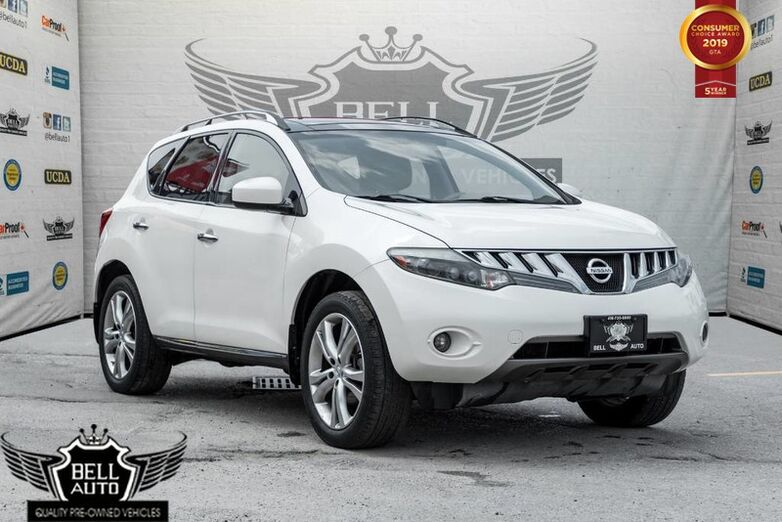 2009 Nissan Murano LE,V6,AWD,PANO ROOF,BACK-UP CAM,LEATHER,PWR SEATS,VOICE COMMAND Toronto ON