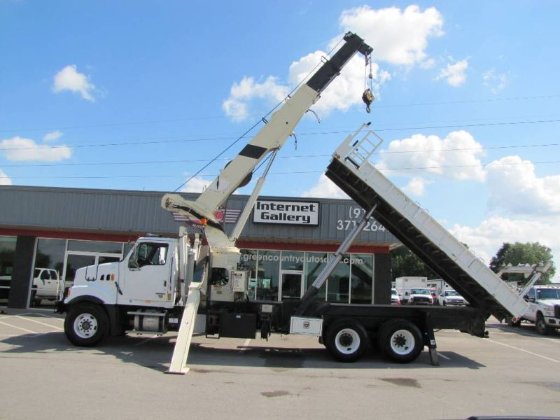 2009 No Make Crane Truck w/ Dump Bed Collinsville OK