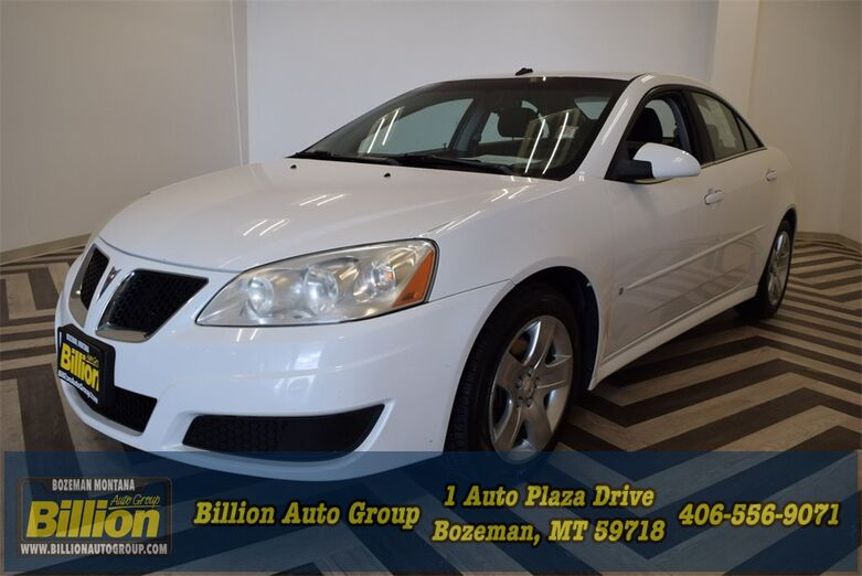 2009 Pontiac G6 Value Leader Bozeman MT