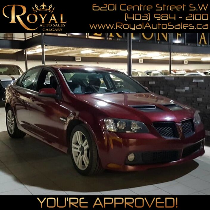 2009 Pontiac G8 *PRICE REDUCED* Calgary AB