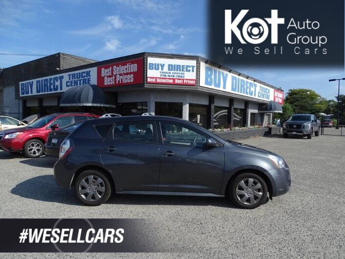 2009 Pontiac Vibe No Accidents! All Maintenance Previously Done. Kelowna BC