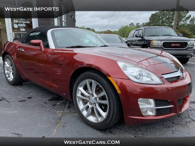 2009 Saturn Sky Ruby Red SE Raleigh NC