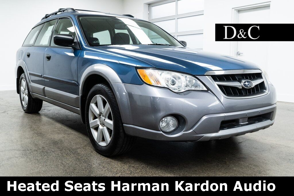 2009 Subaru Outback 2.5i Heated Seats Harman Kardon Audio Portland OR