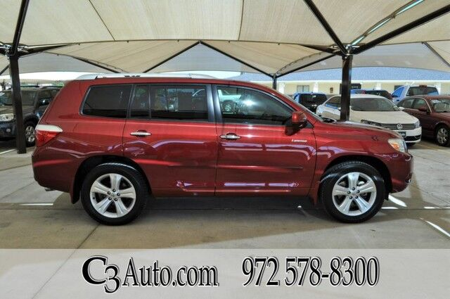 2009 Toyota Highlander Limited 4WD 1-Owner Plano TX