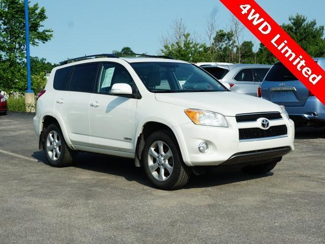 2009 Toyota RAV4 4WD 4dr 4-cyl 4-Spd AT Ltd Cranberry Twp PA