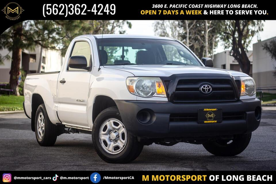 2009_Toyota_Tacoma Regular Cab_Pickup 2D 6 ft_ Long Beach CA