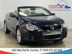 2009_Volkswagen_Eos_KOMFORT AUTOMATIC LEATHER HEATED SEATS DUAL CLIMATE CONTROL ALLO_ Carrollton TX